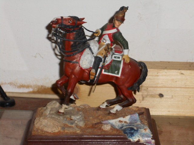 SOLDAT DE PLOMB FIGURINES D'ARTISTE DRAGON 6 eme RGT  95 mm