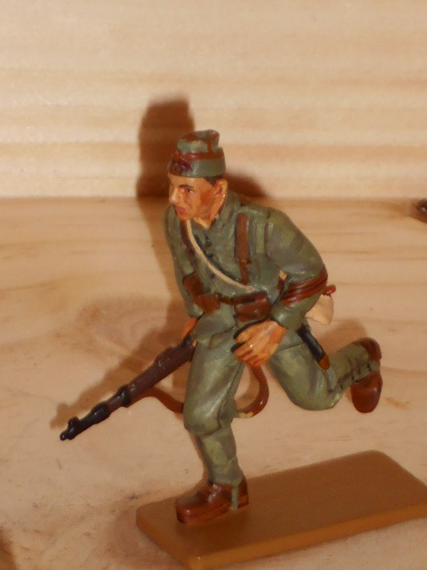 SOLDAT DE PLOMB DEL PRADO 39/45 NATIONALIST ARMY INF SPAIN