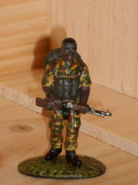 SOLDAT DE PLOMB FRONTLINE TROUPE D'ELITE  RECO COMMANDO SOUTH AFRICA